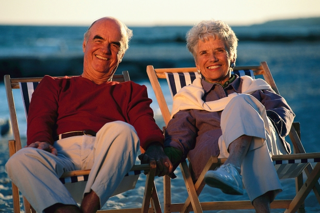 Couple Old On Beach.jpg
